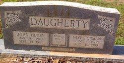 John Henry Daugherty