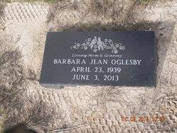 Barbara Jean <I>Moore</I> Oglesby