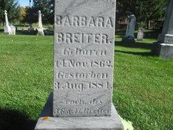 Barbara Breiter 1862 1884 Find A Grave Memorial