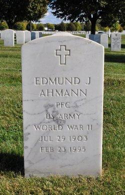 Edmund J Ahmann
