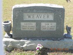 Amanda Robertson <I>Weaver</I> Weaver