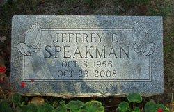 Jeffrey D Speakman