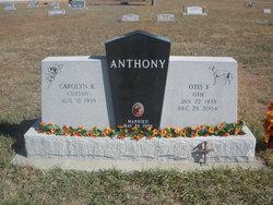 Otis F. Anthony