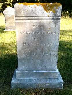 Capt Joseph Mayo Caton