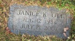Janice K <I>Kelley</I> Ott