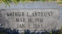 Arthur Lewis Anthony
