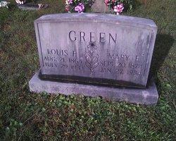 Mary E. <I>Jones</I> Green