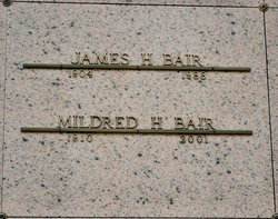 "Mildred H. ""Mickey"" <I>Koch</I> Bair"