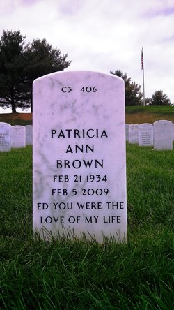 Patricia Ann Vincent Brown (1934-2009) - Find A Grave Memorial