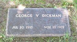 George V Dickman