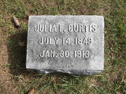 Julia F. <I>Cross</I> Curtis