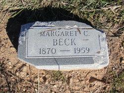 Margaret Cornelia <I>Eaves</I> Beck