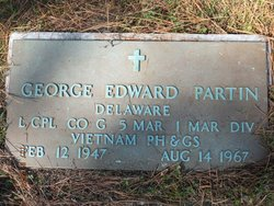"LCpl George Edward ""Buzz"" Partin"