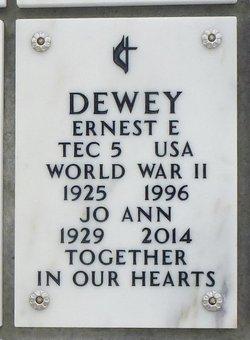 Ernest Elton Dewey