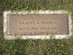 Gladys A. <I>Earp</I> Allison