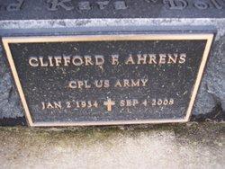 Clifford F Ahrens