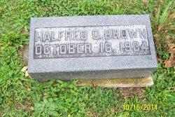 Dr Halfred C. Brown