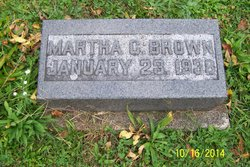Martha <I>Cheney</I> Brown