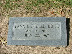 Fannie Ellen <I>Steele</I> Bohl