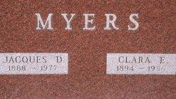 Clara Edith <I>Derrick</I> Myers