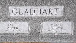 "Frances ""Fannie"" <I>Derrick</I> Gladhart"