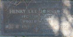 Henry Lee Johnson