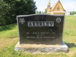 Hilda <I>Allan</I> Akerley
