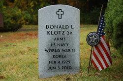 Donald L. Klotz, Sr.