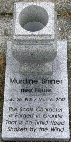Murdine <I>Ferrie</I> Shiner