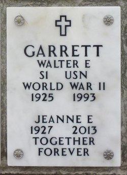 Walter Eugene Garrett