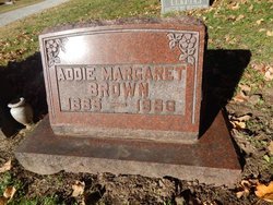 Addie Margaret Brown