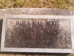 Nora Mae <I>Wood</I> Allen