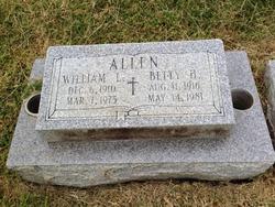 Betty <I>Hutchinson</I> Allen
