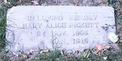 Mary Alice Pickett