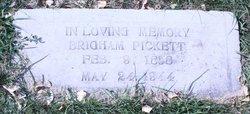 Brigham Franklin Pickett