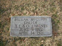Beulah <I>Brents</I> McCurry