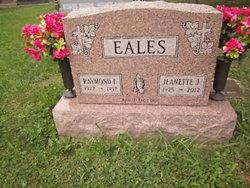 Jeanette J <I>White</I> Eales