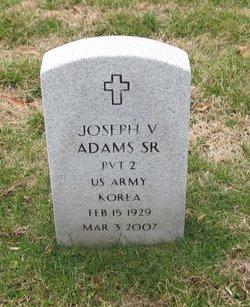 Joseph V Adams, Sr
