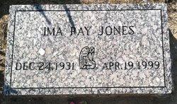 Ima Ray Jones