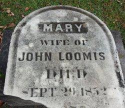 Mary <I>Provin</I> Loomis