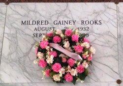 "Mildred Emma ""ME"" <I>Gainey</I> Rooks"