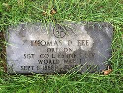 Thomas D Fee