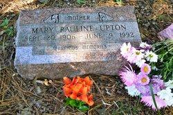 Mary Pauline <I>Wagnon</I> Upton