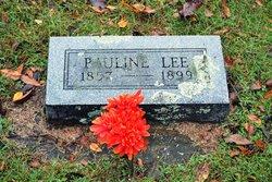 Pauline <I>Brickey</I> Lee