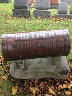 Marie <I>Klotz</I> Radoll