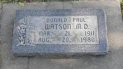 Dr Donald Paul Watson