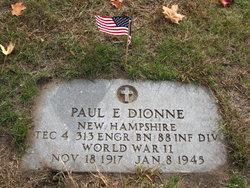 Paul E Dionne