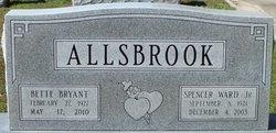 Spencer Ward Allsbrook, Jr