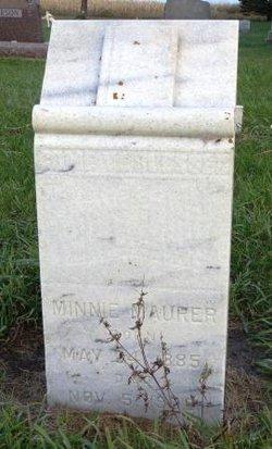 Minnie Maurer