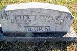 Minnie <I>Green</I> Brown